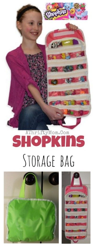 Shopkins bag and storage cas perfect Birthday Party gift idea for your little Sh...
