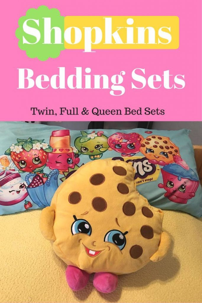 Popular Shopkins Bedding Sets are available in Twin, Full, and Queen sizes for k...