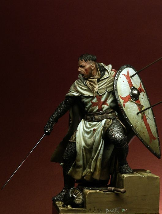 Templar Knight, XII century - GreenModels