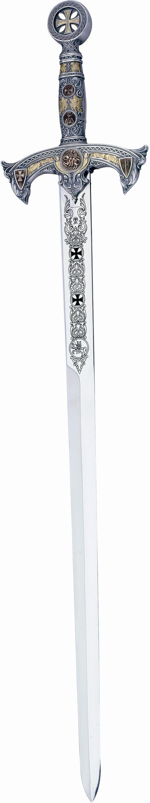 imagesofswords | Deluxe Medieval Templar Knight Swords by Marto of Spain - Best ...