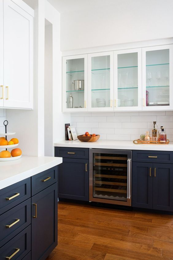 The best 50 blue kitchens - you have to see #best #blue #cakes #mu ...