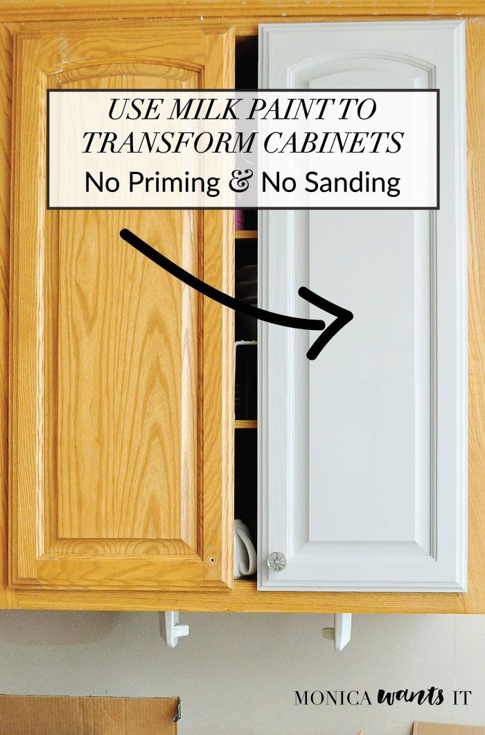 This DIY tutorial teaches you how to transform kitchen or bathroom cabinets with...