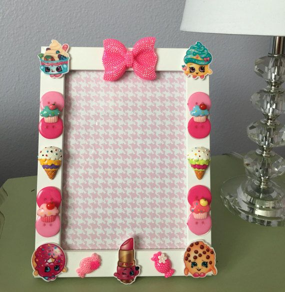 Shopkins Picture Frame Shopkins Gift Girls by SweetPetiteDesign
