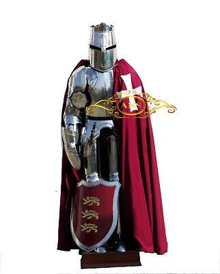 Templar Knight Suit of Armour Wearable Halloween Costume  #affilink #halloween #...