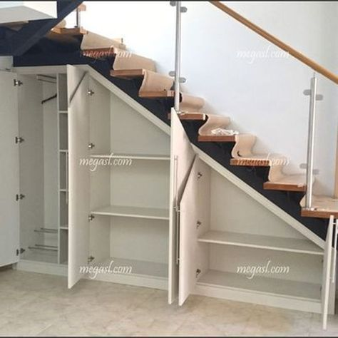 Great cool ideas for storage under stairs 1 #Storage #coole # Ideas # ...