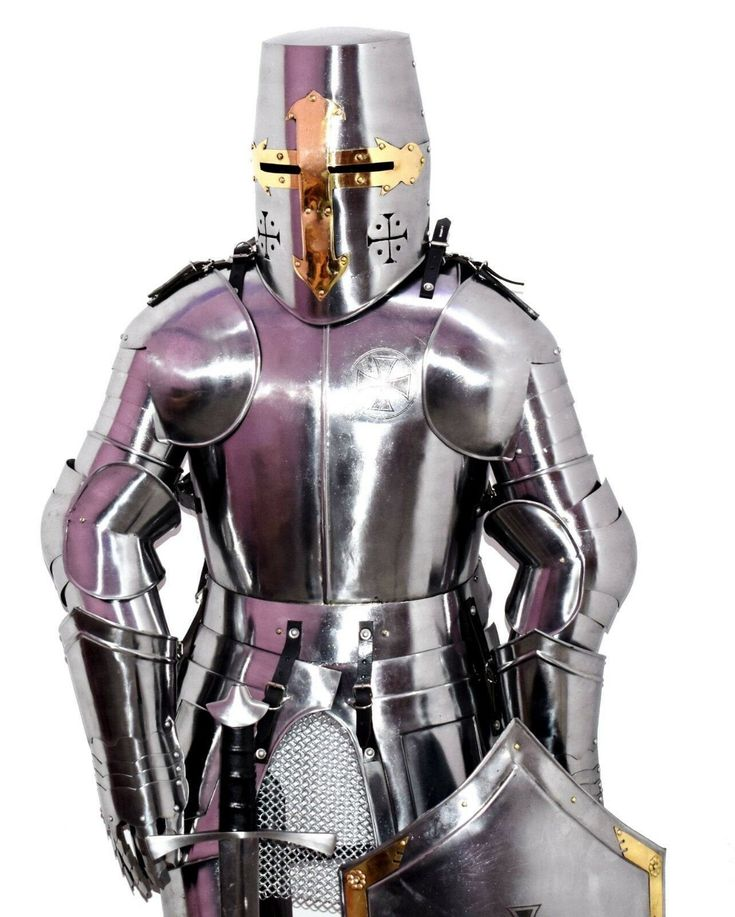 Excited to share the latest addition to my #etsy shop: Templar Knight Full Suit ...