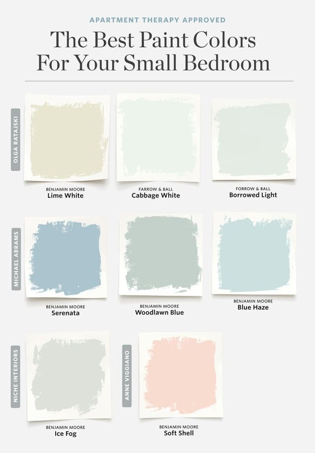 8 colors that always work for a small bedroom #colour #functi ...