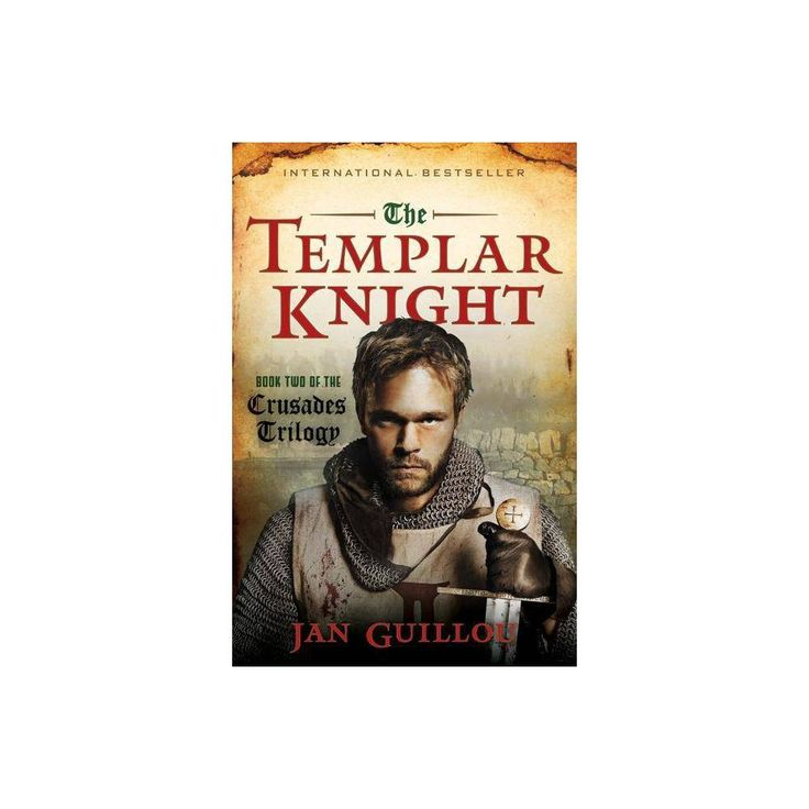 The Templar Knight - (Crusades Trilogy (Hardcover)) by Jan Guillou (Hardcover)