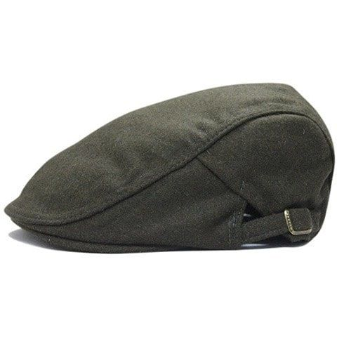 Chic Solid Color Men's Woolen Hat #Ad , #spon, #Color, #Solid, #Chic, #Hat,