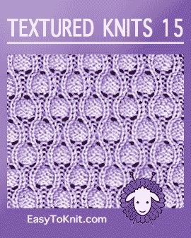 Textured Knits: Quick and easy