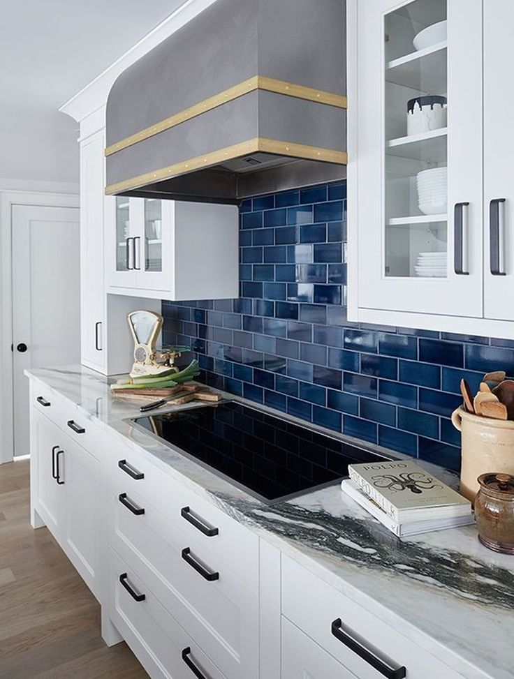 Awesome 42 Lovely Blue Kitchen Ideas. More at homishome.com/...