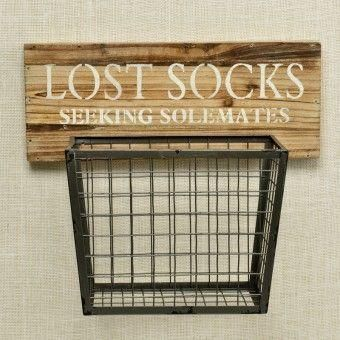 Lost Socks Basket | Pineapple House - # Pineapple House # Basket # Socks #Released