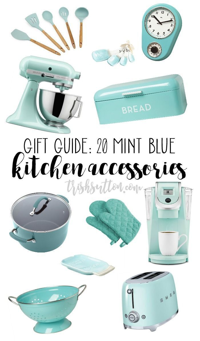 Mint Blue Kitchen Accessory Geschenk-Guide   - Happy Home - #accessory #Blue #Ge...