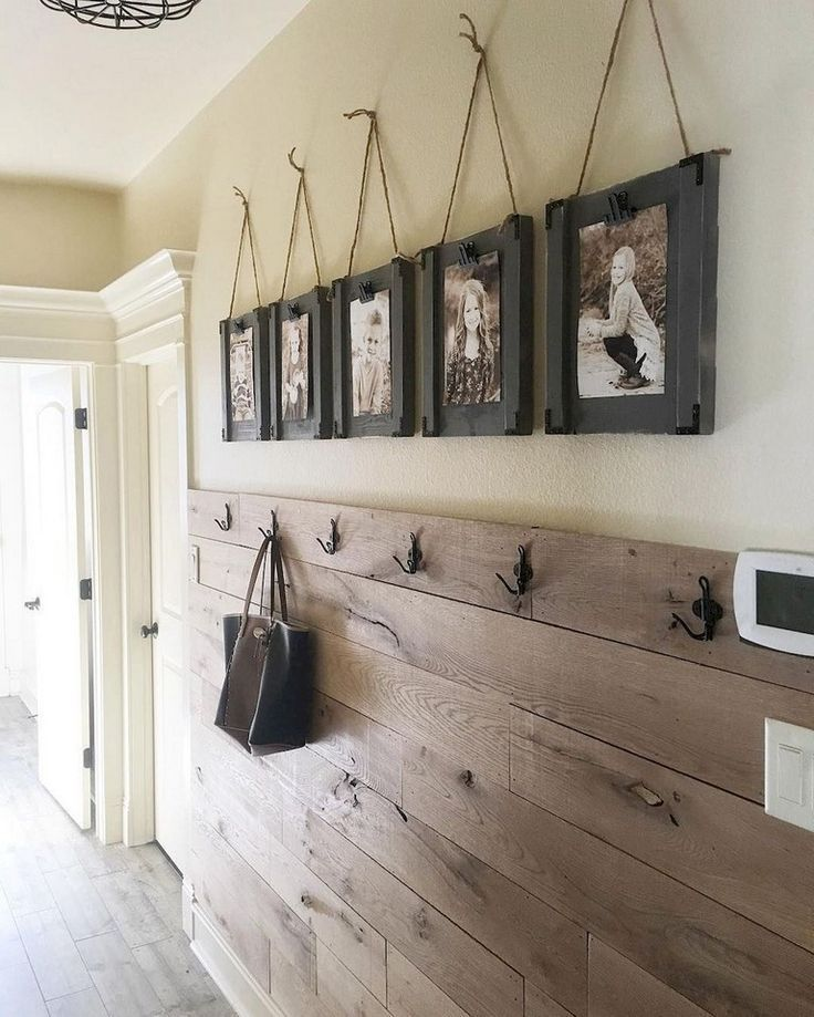 73+ Fabulous Farmhouse Entryway Decor Ideas - #Decor #Entryway #Fabulous #farmho...