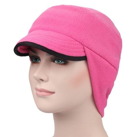 Stylish Solid Color Fleeces Men and Women's Winter Baseball Cap #Ad , #Aff, #Col...