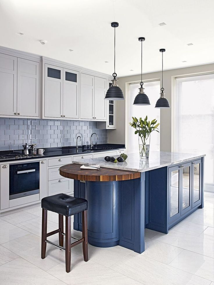Nice 42 Lovely Blue Kitchen Ideas. More at homishome.com/...