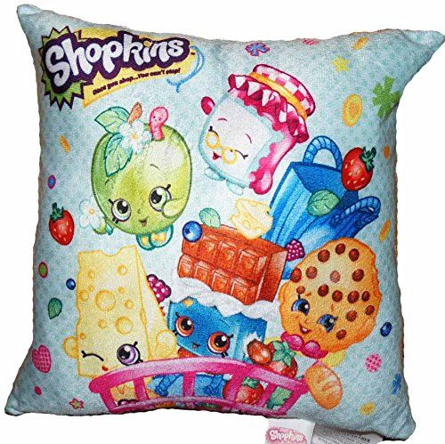 Shopkins Pillow Season 1 2 3: Kooky Cookie, Cheeky Chocolate, Chee Zee, Apple Bl...