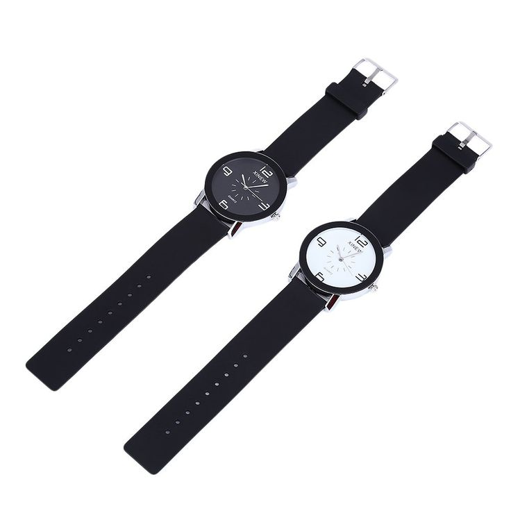 XINEW 1655 Men Quartz Watch Rubber Band Simple Style Wristwatch #Ad , #AFF, #Qua...