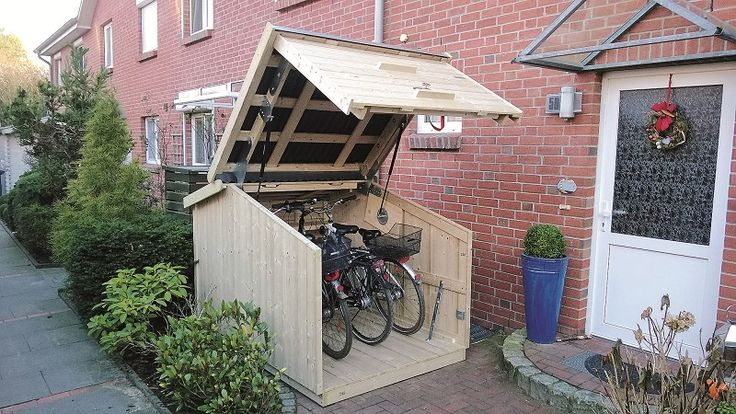 Are you looking for a storage space for your bike? Read more here ...