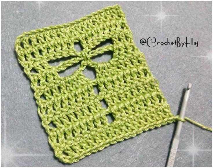 How to Easily Crochet the Dragonfly Stitch. Beginners friendly Crocheted Dragonf...