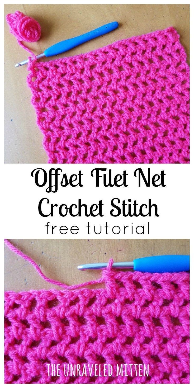 Learn how to use the staggered fillet stitch || Crochet Free Tutor ...