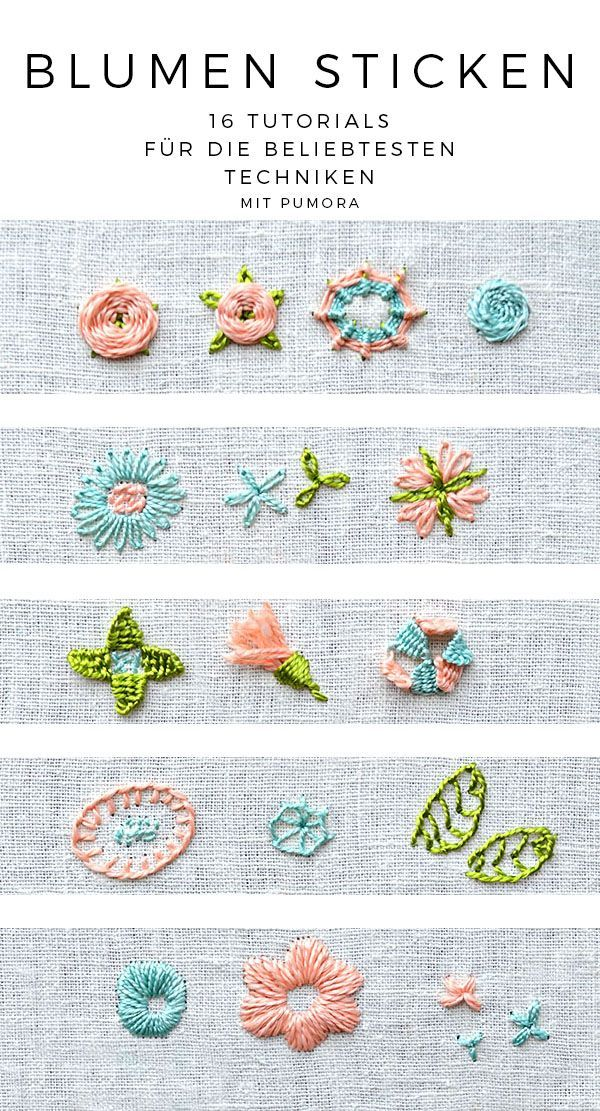 Blog series: embroider flowers