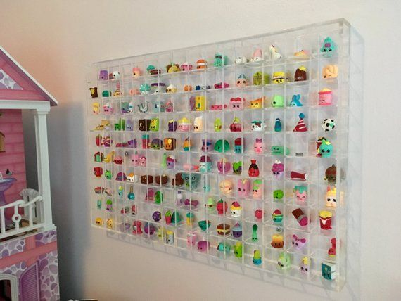 Wall Hanging Acrylic Showcase for Collectibles-150 Openings Compatible with Shop...