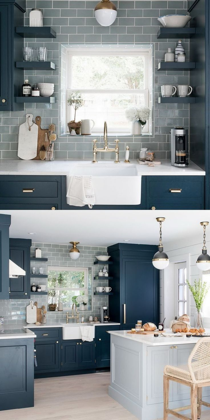 56 Best Small Kitchen Remodel Ideas - Beautiful and Efficient You Must Try | lin...