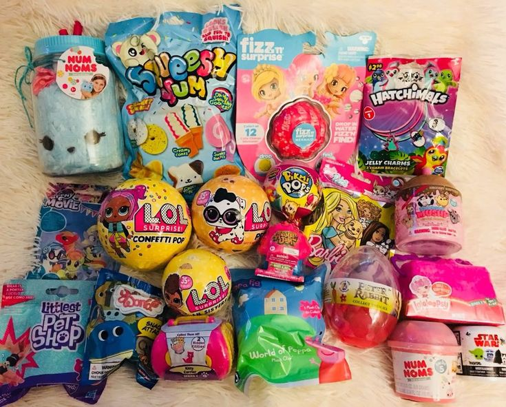 Surprise Toy Lot Blind Bags Lot LOL Confetti Pop Num Nom Smooshy Mushy Pikmi Pop...