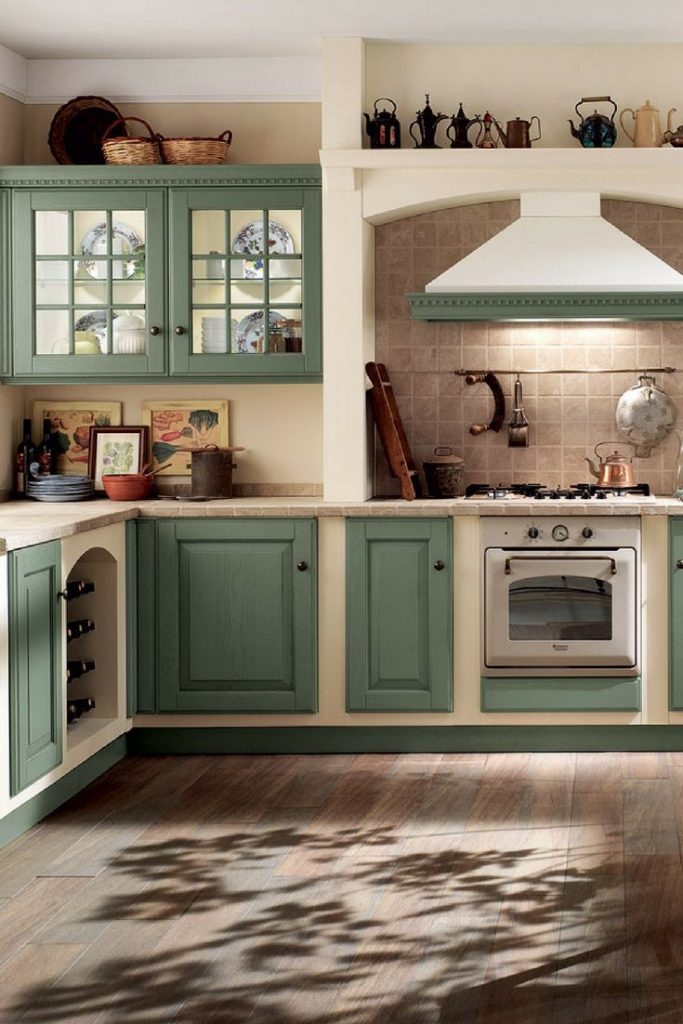 Mint Green, Mint, Pastel Color, Kitchen, Kitchen Color, Pastel, Country Kitchen, Country ...