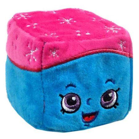 Shopkins Cuddle Cubes Snow Crush Plush, Multicolor