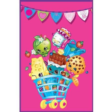 Shopkins Flags Blanket - Walmart.com