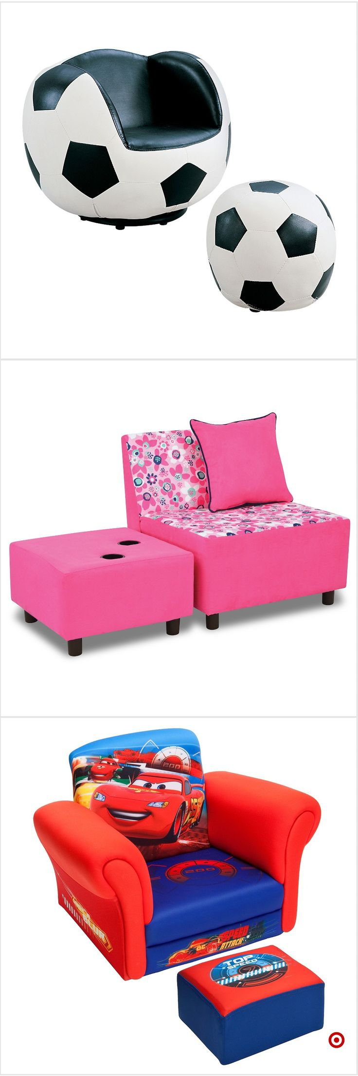 Shop Target for kids upholstered chair and ottoman set you will love at great lo...