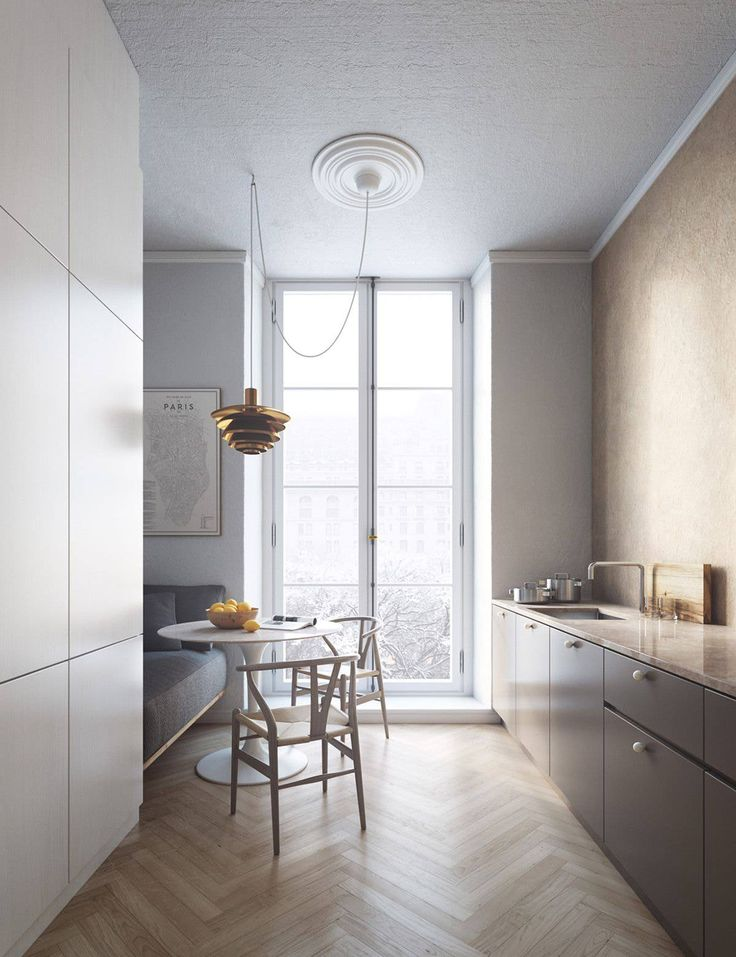 If I ever have a small Paris apartment that needs renovating and I have the mone...