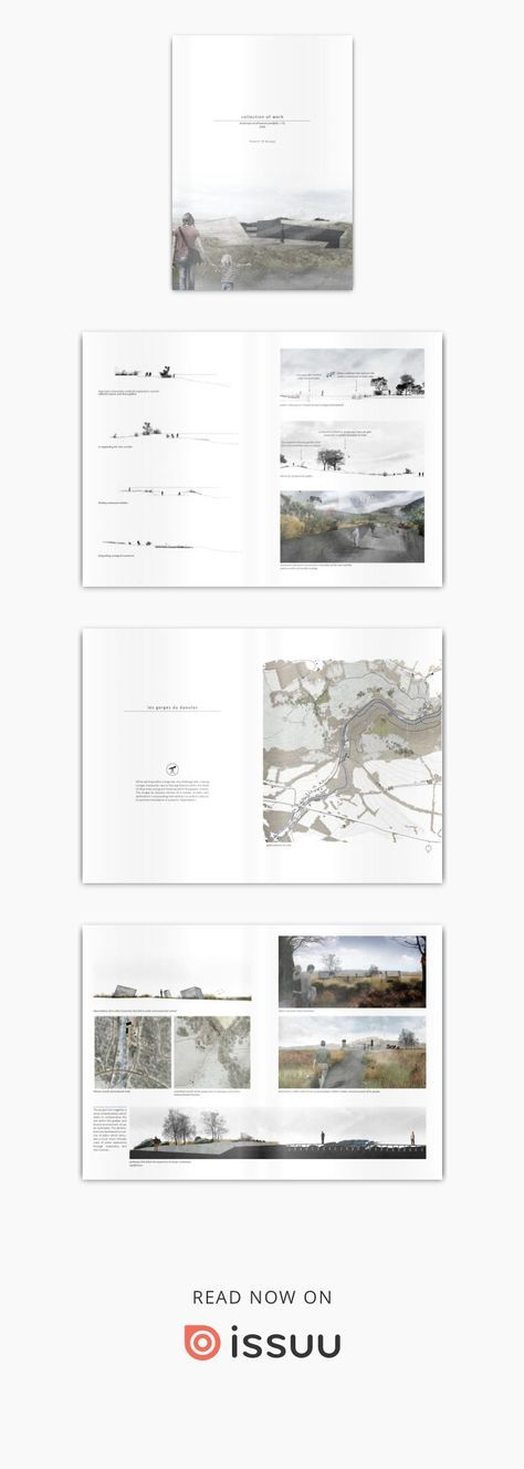 Robert Budge - Landscape Architecture Portfolio The collective works from my fiv...