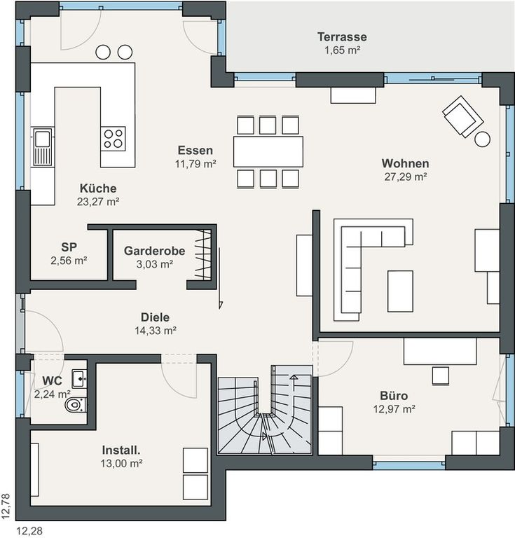 WeberHaus customer house from the generation5.5 series - an energy wonder with a lot of ...
