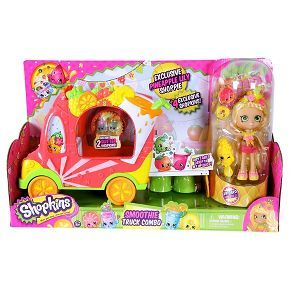Shopkins™ Groovy Smoothie Juice Truck with Jucinda Shoppies Doll