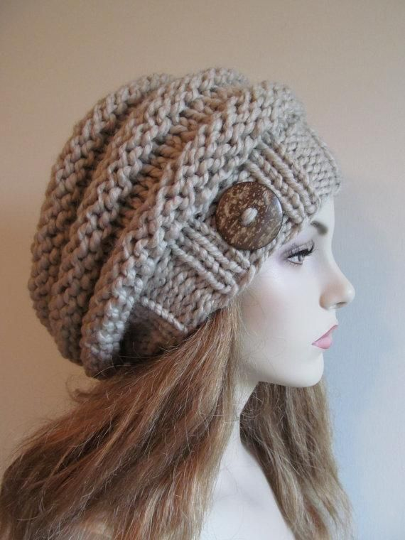 Bulky Slouch Beanie ... by TVBApril24092218 | Knitting Pattern - Looking for you...