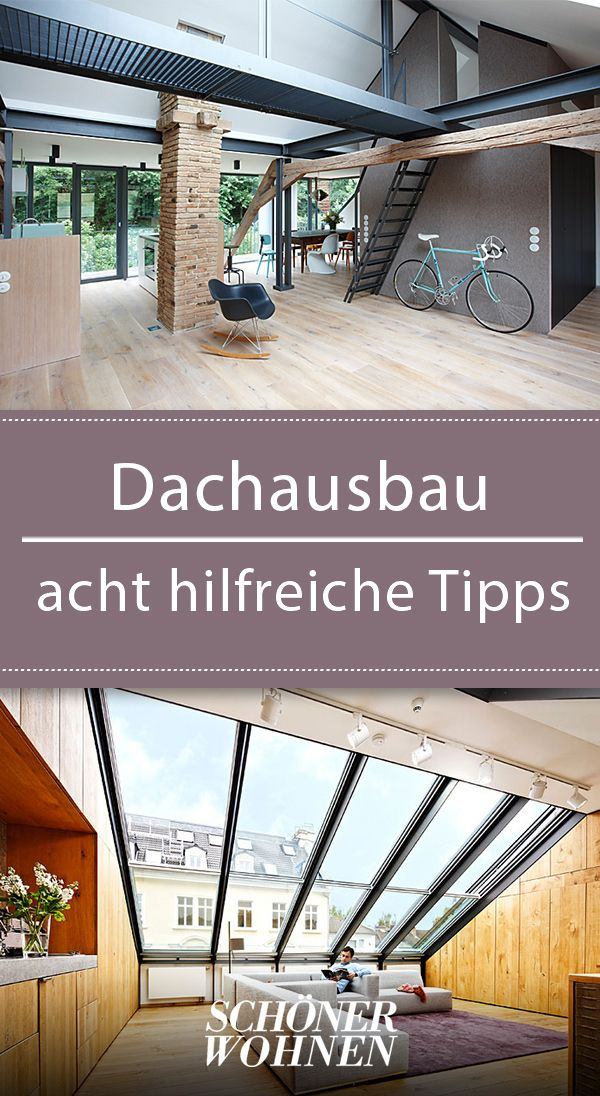 You should know that! #Dachausbau # how #tippsundtricks