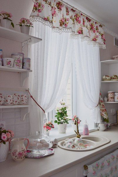 7 Beautiful Designs of Kitchen Curtains - The Heart of Your Kitchen, #designs #your ...