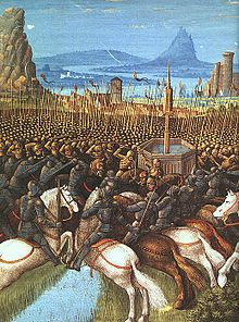 House of Lusignan - Battle of Hattin in which Guy de Lusignan was captured by Sa...