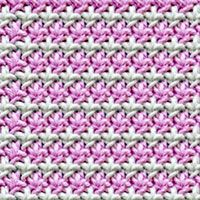 Risotto Textured Knitting stitch, free knitting stitch pattern. The stitch would...