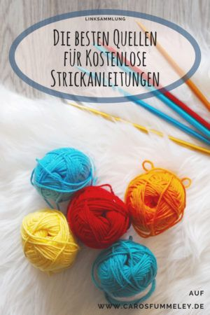 A collection of links, the portals and sample collections with free knitting instructions ...