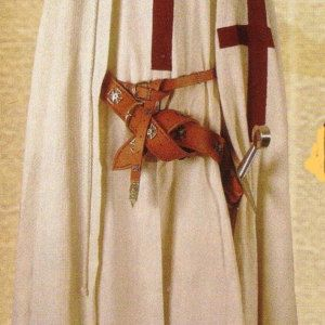 New Medieval Renaissance Templar Knight Robe Tunic Costume