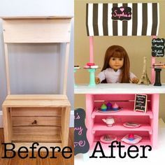 American Girl Bakery DIY Easy DIY Project | Mr. Wilson & Me
