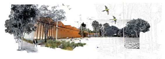 Perry Park Design Competition | Sydney Australia | HASSELL « World Landscape Ar...