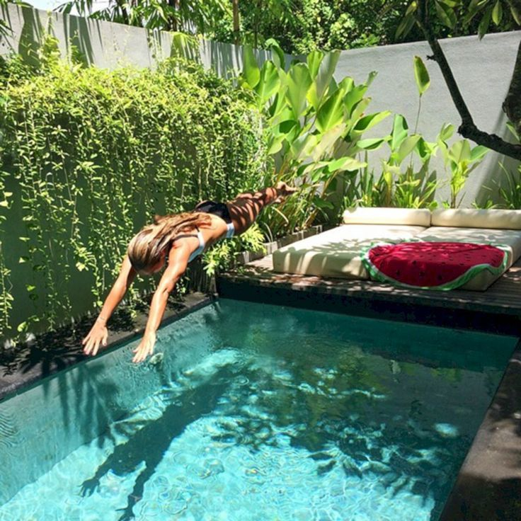 Coolest Small Pool Ideas with 9 Basic Preparation Tips - #Basic #Coolest #Ideas ...