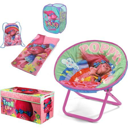 Dreamworks Trolls ;Find Your Happy Place; Total Room Decor Collection for Girls,...