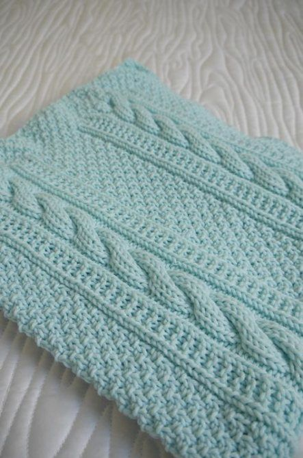 53+ Trendy ideas for knitting patterns baby blankets texture