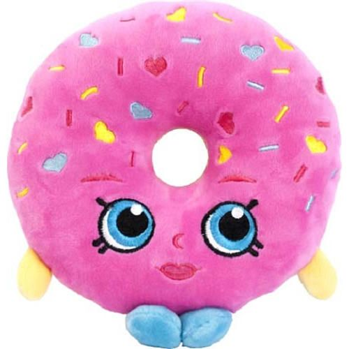 "Shopkins 8 Inch Plush - D'Lish Donut - Import Dragons - Toys ""R"" Us"